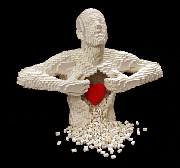 Incredible-LEGO-Art-by-Nathan-Sawaya-heartfelt