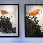 Exposition 2015 : «Fées et Amazones» d'Olivier Ledroit à la galerie Glénat
