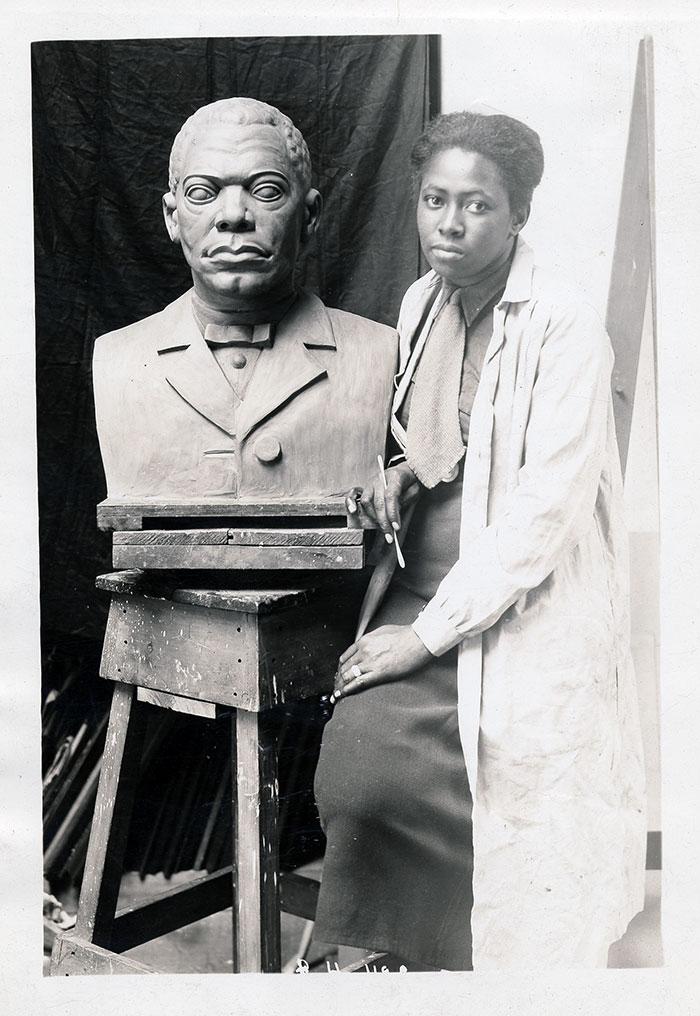 femme-artiste-afro-americaine-Archives_of_American_Art_-_Selma_Burke_-_2007