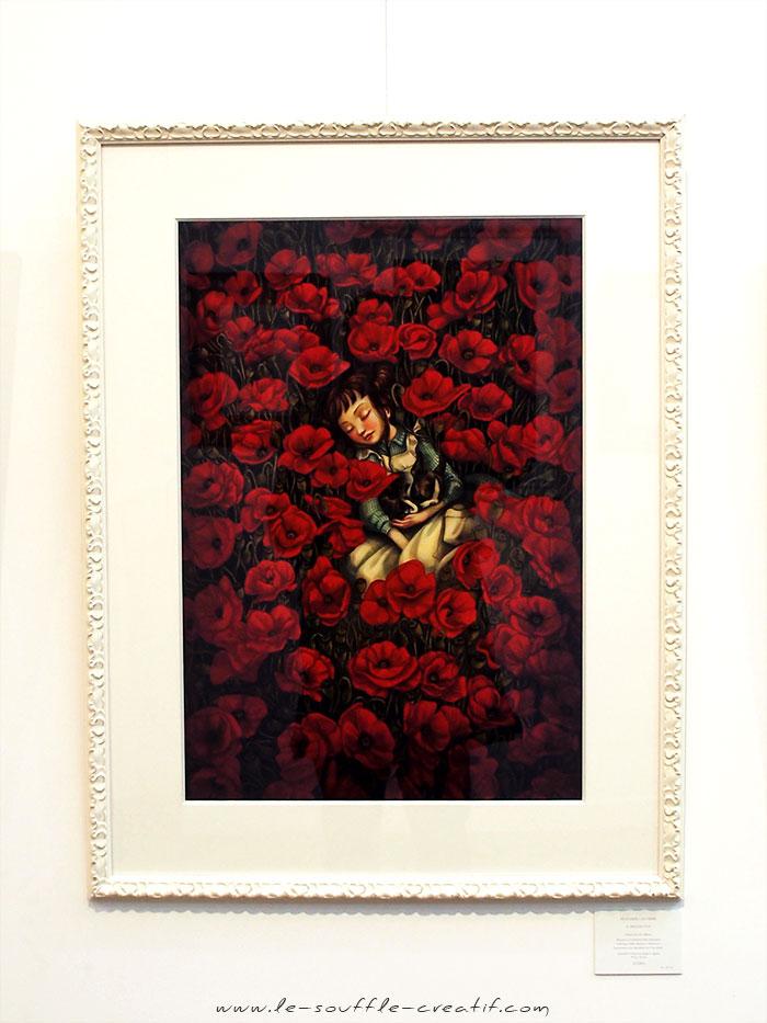 benjamin-lacombe-exposition-galerie-daniel-maghen-2018-PC141406