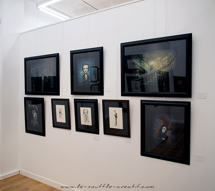 benjamin-lacombe-exposition-galerie-daniel-maghen-2018-PC141409