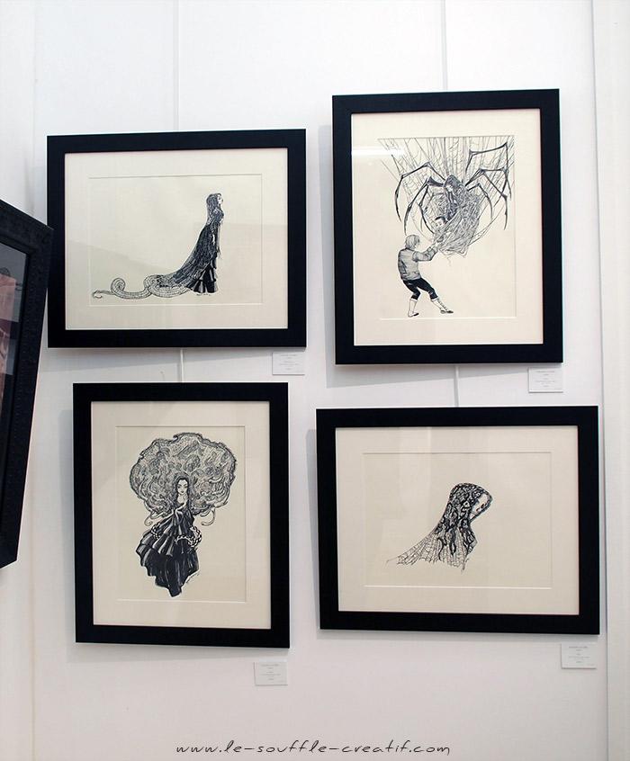 benjamin-lacombe-exposition-galerie-daniel-maghen-2018-PC141410_1