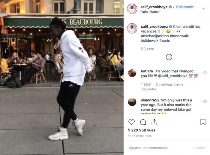 Instagram : Salif