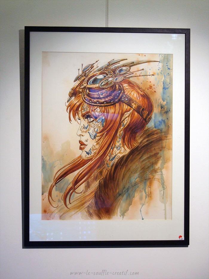Wika d'Olivier Ledroit exposition 2019 Galerie Glénat